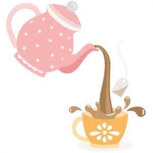 Pouring Tea Pot SVG cutting files for scrapbooking cute files cute clip art tea clipart free svgs silhouette cricut