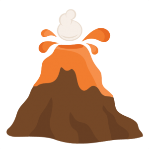 Volcano  SVG cutting files for scrapbooking science svg cut files cute cut files for cricut cute svg cuts