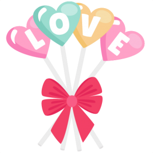Love Lollipops Valentine Treats scrapbook cuts SVG cutting files doodle cut files for scrapbooking clip art clipart doodle cut files for cricut free svg cuts
