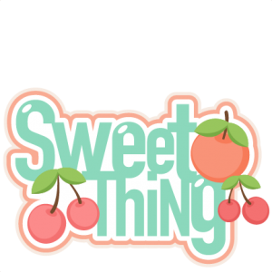 Sweet Thing scrapbook title scrapbook clip art sweet cut outs for cricut cute svg cut files free svgs cute svg cuts