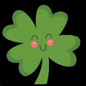 Cute Four Leaf Clover SVG cut files for scrapbooking silhouette cut files svgs for cricut free svgs cute clipart clip art