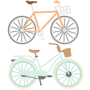 Bicycle Set SVG cutting files for scrapbooking  cute svg cuts free svgs for cricut cutting files silhouette