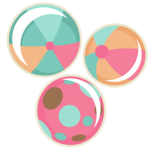 Beach Ball scrapbook cuts SVG cutting files doodle cut files for scrapbooking clip art clipart doodle cut files for cricut free svg cuts