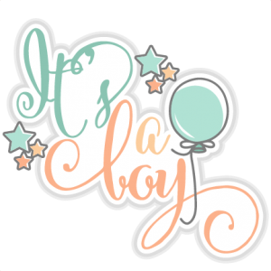 It's a Boy title SVG cut files for scrapbooking cherry svg cut files free svgs free svg cuts cute cut files silhouette cricut