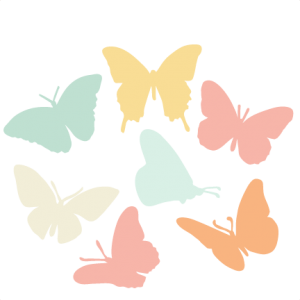 Butterfly  Silhouette Set SVG scrapbook title cat svg cut files kitten svg cut files free svgs free svg cuts