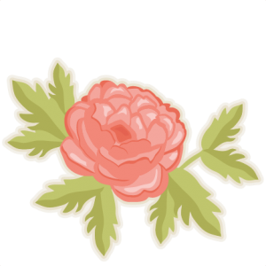 Peony Flower SVG cutting files doodle cut files for scrapbooking clip art clipart doodle cut files for cricut free svg cuts
