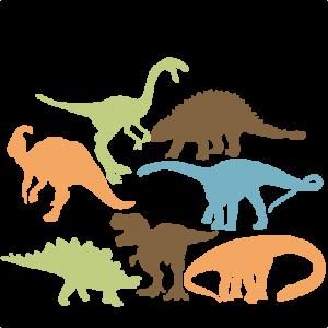 Dinosaur Silhouette Set SVG scrapbook title cat svg cut files kitten svg cut files free svgs free svg cuts