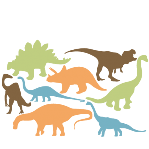 Dinosaur Silhouette Set SVG scrapbook title cat svg cut files kitten svg cut files free svgs free svg cuts