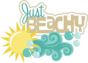 Just Beachy Title SVG scrapbook cut file cute clipart files for silhouette cricut pazzles free svgs free svg cuts cute cut files