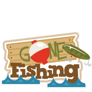 Gone Fishing Title SVG scrapbook title fishing svg cut files free svgs free svg cuts for cricut silhouette pazzles