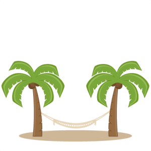 Palm Trees With Hammock SVG scrapbook cut file cute clipart files for silhouette cricut pazzles free svgs free svg cuts cute cut files