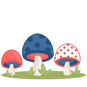 Polka Dot Mushrooms SVG scrapbook cut file cute clipart files for silhouette cricut pazzles free svgs free svg cuts cute cut files