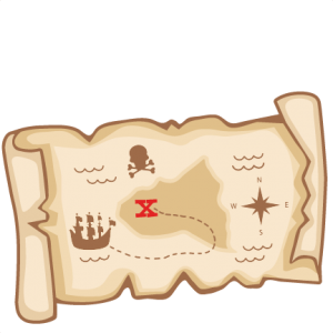 Treasure Map SVG scrapbook cut file cute clipart clip art files for silhouette cricut pazzles free svgs free svg cuts cute cut files