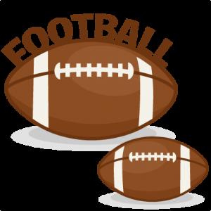 Football Set SVG scrapbook cut file cute clipart clip art files for silhouette cricut pazzles free svgs free svg cuts cute cut files