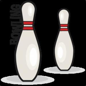 Bowling Pin Set SVG scrapbook cut file cute clipart clip art files for silhouette cricut pazzles free svgs free svg cuts cute cut files