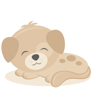 Sleeping Puppy SVG scrapbook cut file cute clipart files for silhouette cricut pazzles free svgs free svg cuts cute cut files