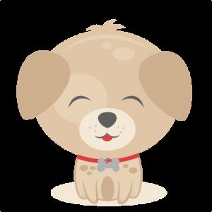 Sitting Puppy SVG scrapbook cut file cute clipart files for silhouette cricut pazzles free svgs free svg cuts cute cut files