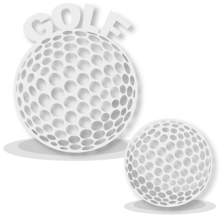 Golf Ball Set Svg Scrapbook Cut File Cute Clipart Clip Art Files For Silhouette Cricut Pazzles Free Svgs Free Svg Cuts Cute Cut Files