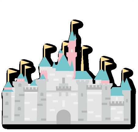 Disney castle cricut. Princess svg scrapbook cut