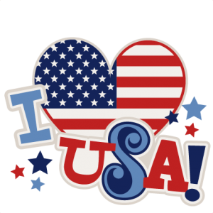 I Heart USA Title SVG scrapbook cut file cute clipart files for silhouette cricut pazzles free svgs free svg cuts cute cut files