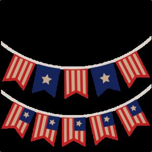 USA Banners SVG scrapbook cut file cute clipart files for silhouette cricut pazzles free svgs free svg cuts cute cut files
