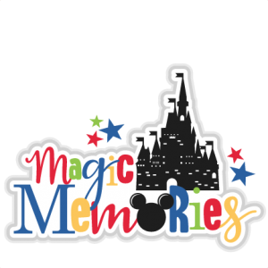 Magic Memories Title SVG scrapbook cut file cute clipart files for silhouette cricut pazzles free svgs free svg cuts cute cut files