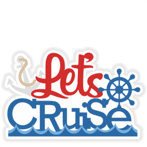 Let's Cruise title SVG scrapbook cut file cute clipart files for silhouette cricut pazzles free svgs free svg cuts cute cut files