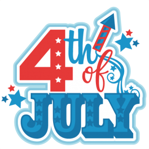 4th of July Title SVG scrapbook cut file cute clipart files for silhouette cricut pazzles free svgs free svg cuts cute cut files