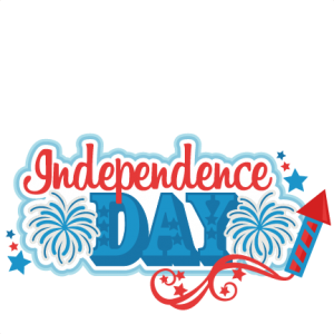 Independence Day Title SVG scrapbook cut file cute clipart files for silhouette cricut pazzles free svgs free svg cuts cute cut files