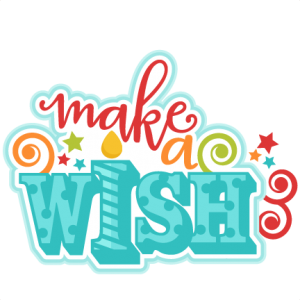 Make A Wish Title clip art  SVG scrapbook cut file cute clipart files for silhouette cricut pazzles free svgs free svg cuts cute cut files