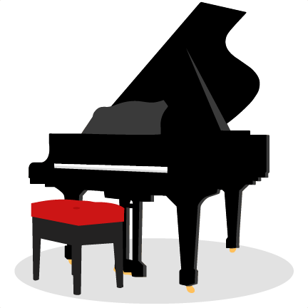 Piano Svg Scrapbook Cut File Cute Clipart Files For