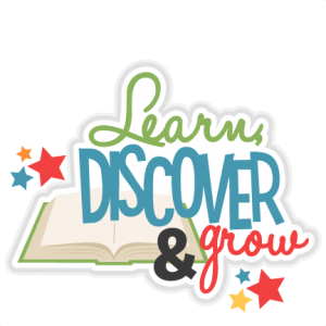 Learn Discover Grow Title SVG scrapbook cut file cute clipart files for silhouette cricut pazzles free svgs free svg cuts cute cut files