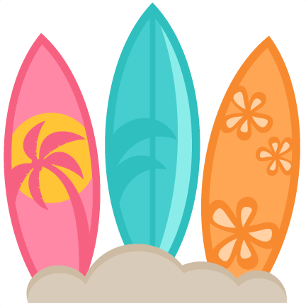 Surfboards SVG scrapbook cut file cute clipart files for ...
