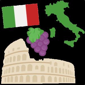 Italy Set SVG scrapbook cut file cute clipart files for silhouette cricut pazzles free svgs free svg cuts cute cut files