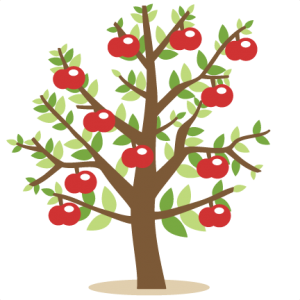 Apple Tree SVG cutting files for cricut silhouette pazzles free svg cuts free svgs cut cute files for scrapbooking