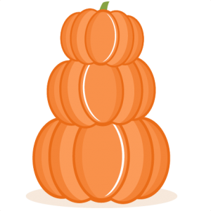 Stacked Pumpkins SVG scrapbook cut file cute clipart files for silhouette cricut pazzles free svgs free svg cuts cute cut files