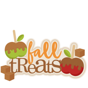 Fall Treats Title SVG scrapbook cut file cute clipart files for silhouette cricut pazzles free svgs free svg cuts cute cut files
