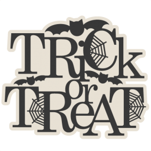 Trick or Treat Title SVG scrapbook cut file cute clipart files for silhouette cricut pazzles free svgs free svg cuts cute cut files