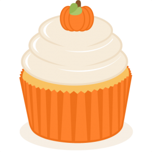 Pumpkin Cupcake SVG scrapbook cut file cute clipart files for silhouette cricut pazzles free svgs free svg cuts cute cut files