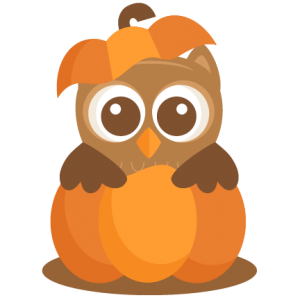 Owl in Pumpkin SVG scrapbook cut file cute clipart files for silhouette cricut pazzles free svgs free svg cuts cute cut files