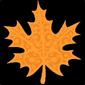 Fall Flourish Leaf SVG scrapbook cut file cute clipart files for silhouette cricut pazzles free svgs free svg cuts cute cut files