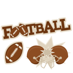 Football Set SVG scrapbook cut file cute clipart clip art files for silhouette cricut pazzles free svgs free svg cuts cute cut files