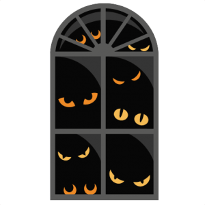 Halloween Window  SVG scrapbook cut file cute clipart files for silhouette cricut pazzles free svgs free svg cuts cute cut files