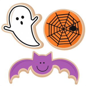 Halloween Cookies SVG scrapbook cut file cute clipart files for silhouette cricut pazzles free svgs free svg cuts cute cut files