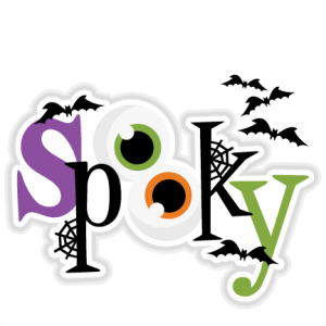Spooky Title SVG scrapbook cut file cute clipart files for silhouette cricut pazzles free svgs free svg cuts cute cut files