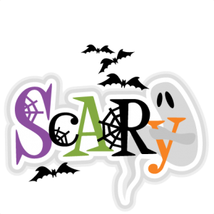 Scary Title SVG scrapbook cut file cute clipart files for silhouette cricut pazzles free svgs free svg cuts cute cut files