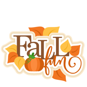 Fall Fun Title SVG scrapbook cut file cute clipart files for silhouette cricut pazzles free svgs free svg cuts cute cut files