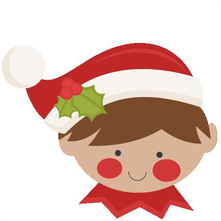 Christmas Elf SVG scrapbook cut file cute clipart files ...