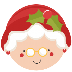 Christmas Mrs. Claus SVG scrapbook cut file cute clipart files for silhouette cricut pazzles free svgs free svg cuts cute cut files