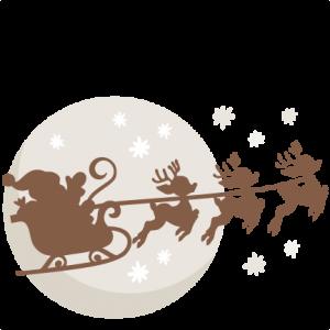 Christmas Eve Santa  SVG scrapbook cut file cute clipart files for silhouette cricut pazzles free svgs free svg cuts cute cut files